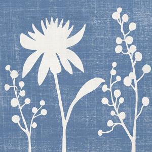 Blue Linen I by Megan Meagher