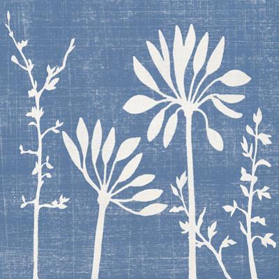 Blue Linen IV by Megan Meagher