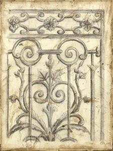 Decorative Iron Sketch II by Megan Meagher