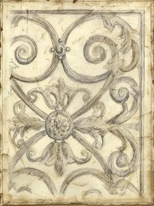 Decorative Iron Sketch IV by Megan Meagher