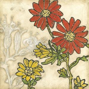 Indian Summer Florals I by Megan Meagher