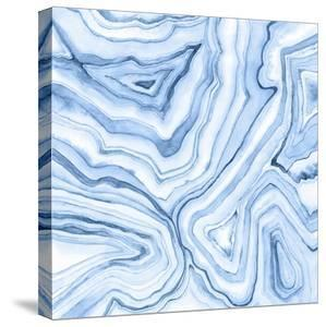 Indigo Agate Abstract II by Megan Meagher