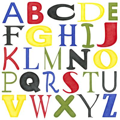 Kid's Room Letters by Megan Meagher