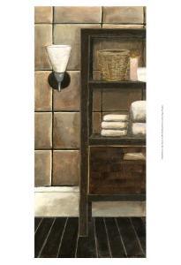 Modern Bath Panel I by Megan Meagher