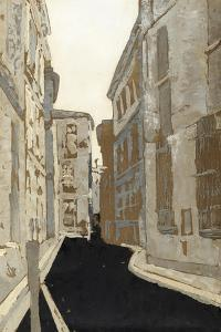 Non-Embellished Streets of Paris I by Megan Meagher