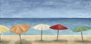 Ocean Umbrellas I by Megan Meagher