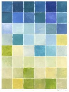 Pixilated Landscape I by Megan Meagher