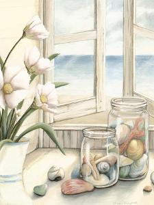 Small Beach House View I by Megan Meagher