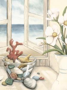 Small Beach House View II by Megan Meagher