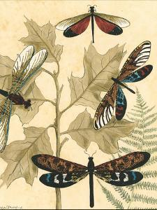 Small Graphic Dragonflies I by Megan Meagher