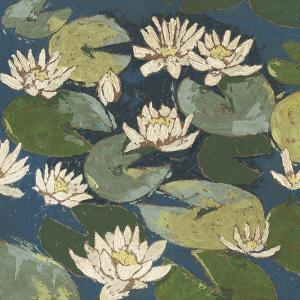 Water Flowers I by Megan Meagher