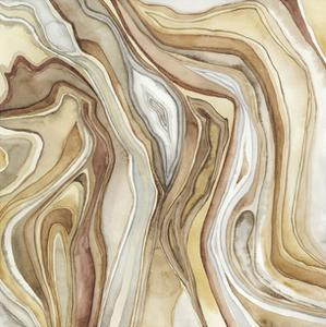 Watercolor Agate II by Megan Meagher