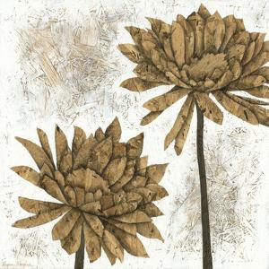 White Washed Dahlias II by Megan Meagher