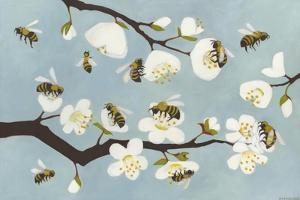 Bees and Blossoms by Megan Moore