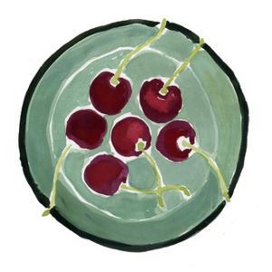 Bowl of Cherries by Megan Moore