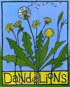 Dandelions, 2008 by Megan Moore