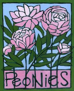 Peonies, 2007 by Megan Moore