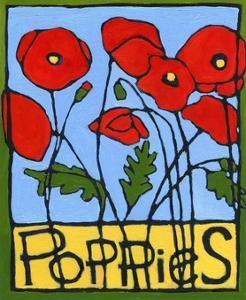 Poppies, 2004 by Megan Moore