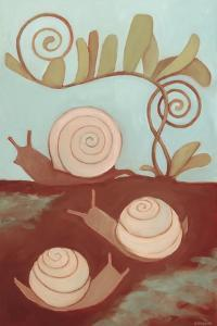 Snails and Fern, 2014 by Megan Moore