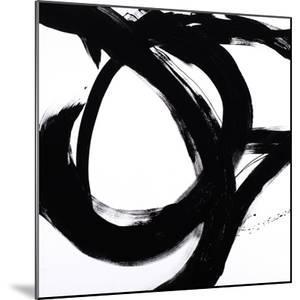 Circular Strokes I by Megan Morris