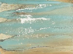 Shoreline Abstract by Megan Morris