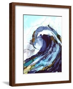 Liquid Wave 1 by Megan Swartz