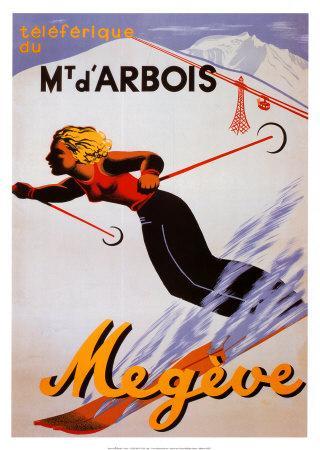 Megeve--Art Print