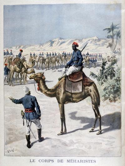 Mehariste Corps, 1894-Frederic Lix-Giclee Print