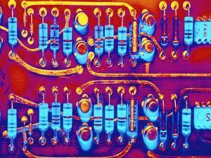 Computer Circuit Board by Mehau Kulyk