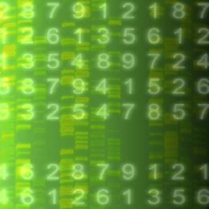 DNA Autoradiogram, Artwork by Mehau Kulyk
