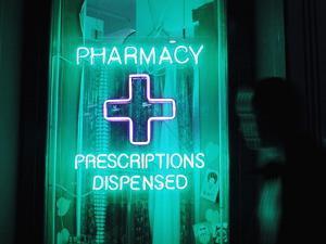 Pharmacy Sign by Mehau Kulyk
