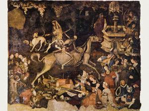 The Triumph of Death, Medieval Fresco by Mehau Kulyk