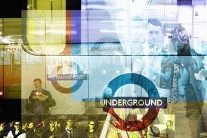 Underground Trains by Mehau Kulyk