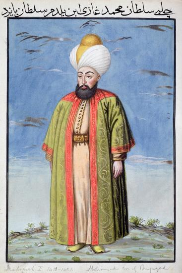 Mehmed I, Ottoman Emperor, (1808)-Unknown-Giclee Print