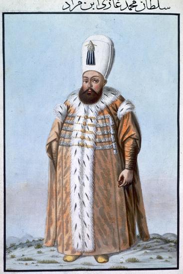 Mehmed III, Ottoman Emperor, (1808)-Unknown-Giclee Print