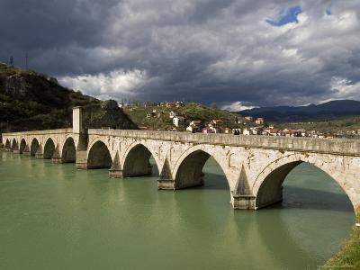 Mehmed Pasa Sokolovic Bridge over the Drina River-Patrick Horton-Photographic Print