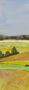 Pastel Hills I by Mehmet Altug
