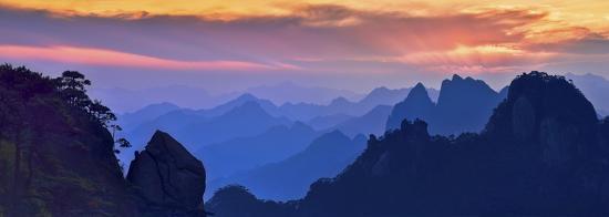 mei-xu-sanqing-mountain-sunset