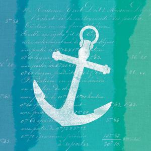 Ombre Ocean Anchor by Meili Van Andel