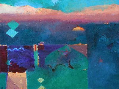 Meknes Green-Gerry Dudgeon-Art Print