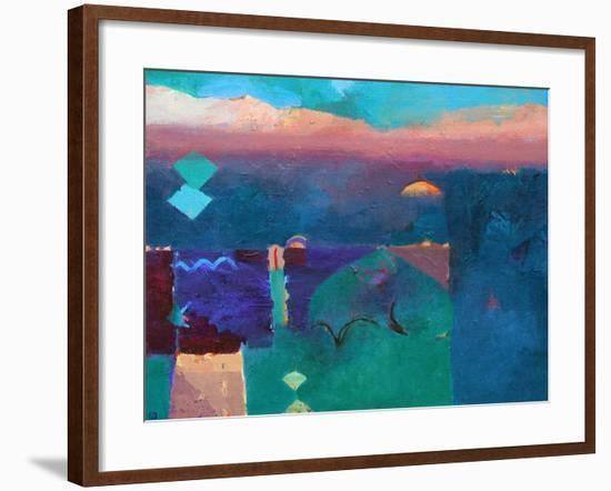 Meknes Green-Gerry Dudgeon-Framed Art Print