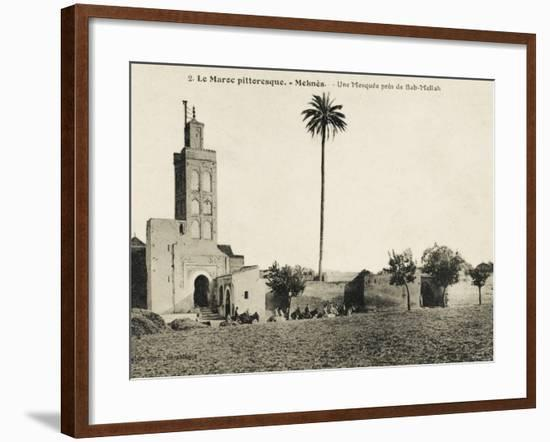 Meknes, Morocco - Mosque Close to the Mellah Gate--Framed Photographic Print