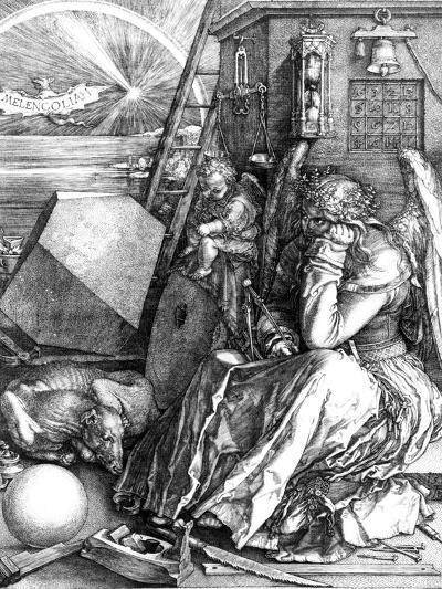 Melancholia, 1514-Albrecht D?rer-Giclee Print