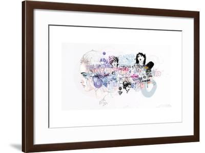 Melancholia Nostalgia And Other Related Feeling-Mydeadpony-Framed Art Print