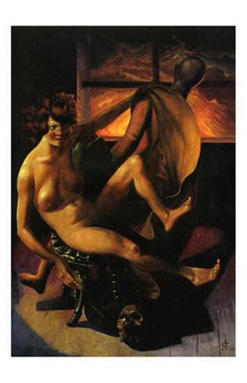 Melancholy, c.1930-Otto Dix-Art Print
