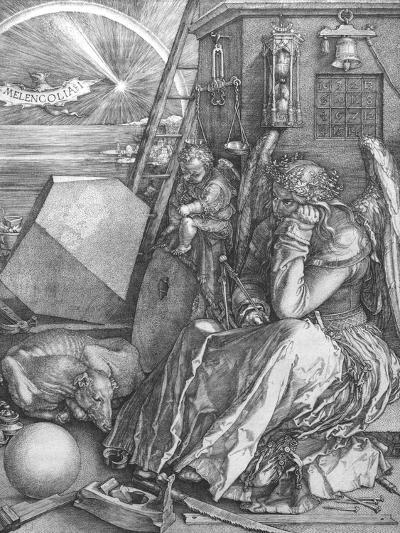 Melancolia, engraving, 1514-Albrecht D?rer-Giclee Print