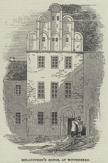 Melancthon's House, at Wittenberg--Giclee Print