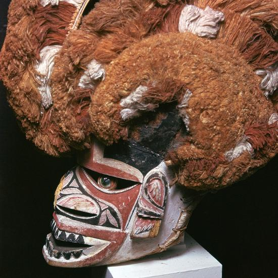 Melanesian mask from New Ireland-Unknown-Giclee Print