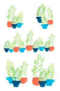 Potted Plants by Melanie Biehle
