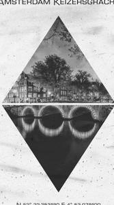 Amsterdam Keizersgracht by Melanie Viola